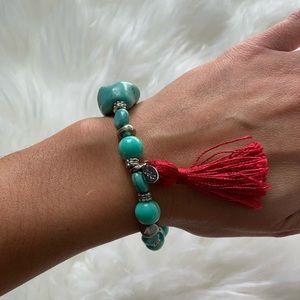 American Eagle Tassel Bracelet